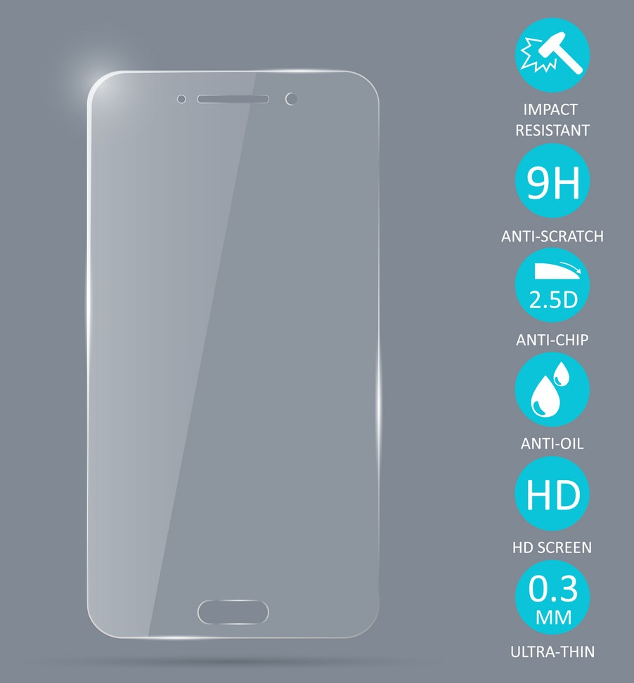 Generic High Quality Tempered Glass Screen Protector For