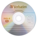 Verbatim 95037 AZO DVD+R 16X 4.7GB with Branded Surface 50pk Spindle