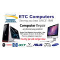 ETC Laptop repair (no Power or no display) $220 fixed Price for most Brands and Models