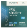 Kaspersky  Total Security Multi Device OEM CD Media 1 Device with 1 Year Protection PC, Mac & Android