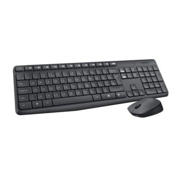 Logitech MK235 Wireless Desktop Keyboard and Mous