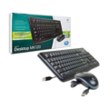Logitech MK120 USB Desktop KB+mouse Black Combo Retail Pack